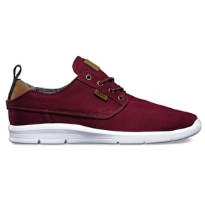 Vans Brigata Lite Skate Shoes - (Canvas) Port Royale/White
