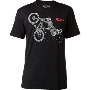 Fox Racing Big Bend T-Shirt - Black