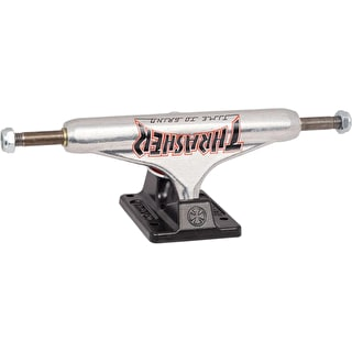 Independent X Thrasher TTG Standard Skateboard Trucks - Silver/Black 144mm