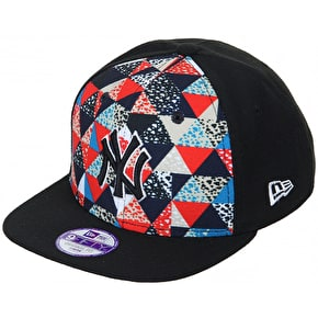 New Era Kids 9Fifty Snapback Cap - NY Multi Print