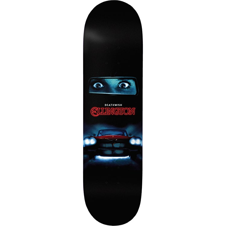 Deathwish Fury - Ellington Skateboard Deck 8.25""