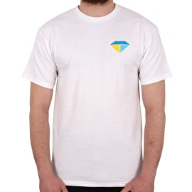 Diamond Supply Co Bolts And Boats T shirt - White