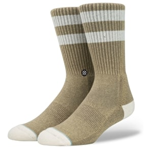 Stance Salty Socks - Brown