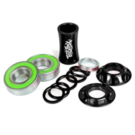Total BMX Team Mid Bottom BMX Bracket - Black 19mm