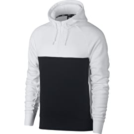 Nike SB Icon Blocked Hoodie - White/Black/White