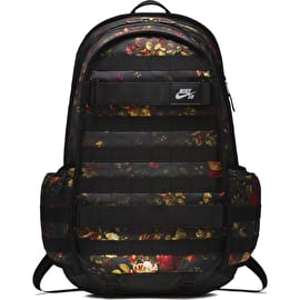 Nike SB RPM Graphic Skateboarding Backpack - Black/Black/Black
