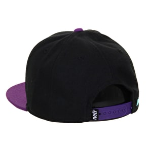 Neff Kenny Kids Cap - Black/Purple/Cyan