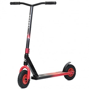 Ascent Dirt Scooter - Red Fade