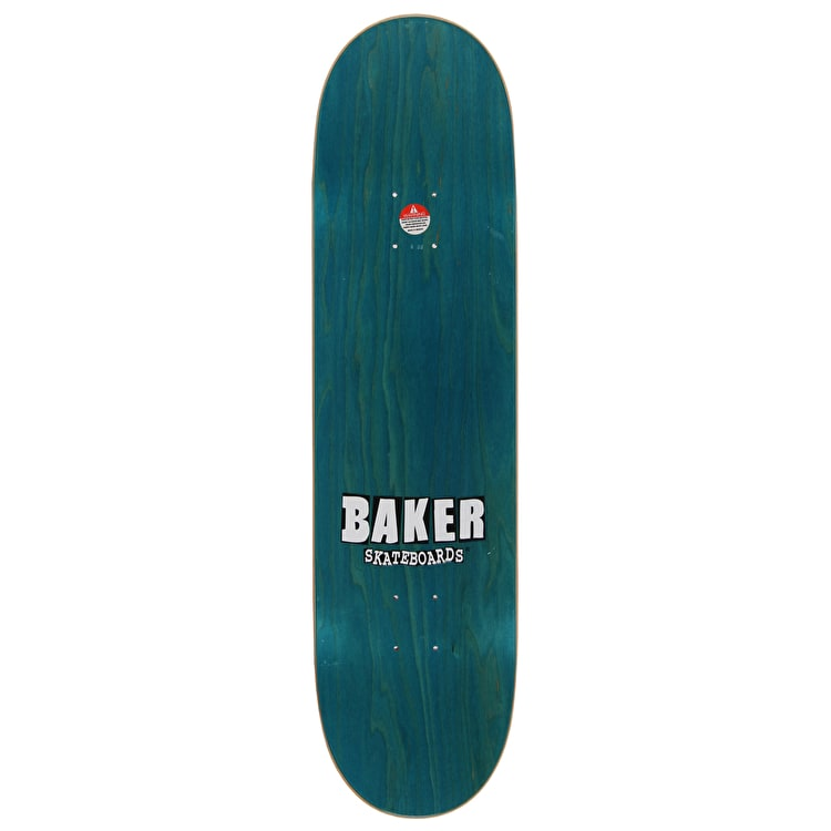 Baker Makin' Waves Figgy OG Skateboard Deck - 8.3875""