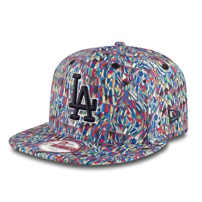 New Era 9Fifty Snapback Cap - MLB LA Dodgers Biggie Print