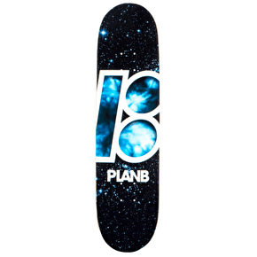 Plan B Skateboard Deck - Team Night Trip 8.125