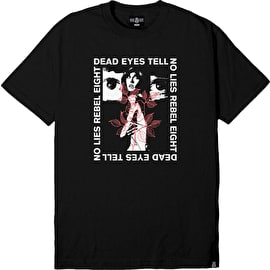 Rebel8 Dead Eyes T shirt - Black