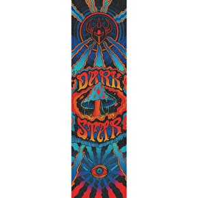 Darkstar Trippy Skateboard Grip Tape - Blue