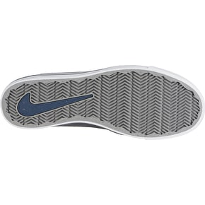 Nike SB Portmore Kids Skate Shoes - Cool Grey/Racer Blue