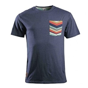 Santa Cruz Flint T-Shirt - Denim Heather