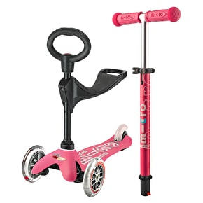 Mini Micro 3in1 Deluxe Complete Scooter - Pink