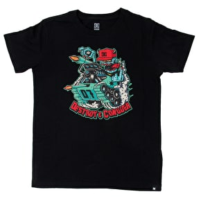 DC Mr Tank Kids T-Shirt - Oxford