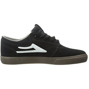 Lakai Griffin Shoes - Black/Gum Suede