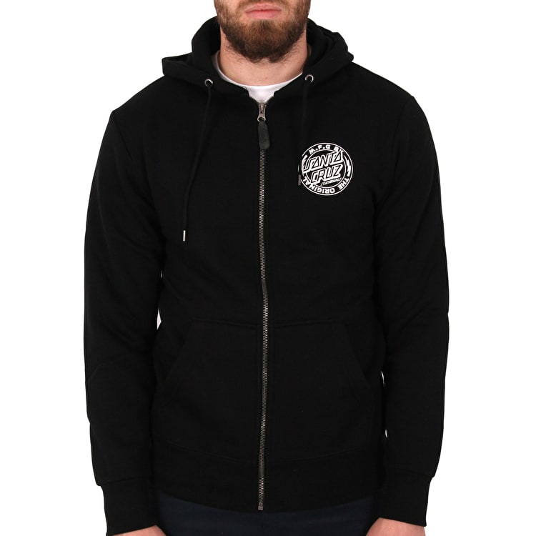 Santa Cruz MFG Voltage Zip Hoodie - Black