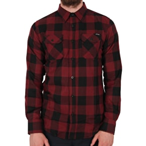 Santa Cruz Derby Shirt - Blood/Black