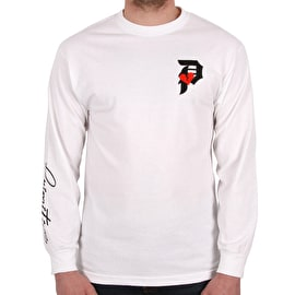 Primitive Dirty P Crush Long Sleeve T shirt - White