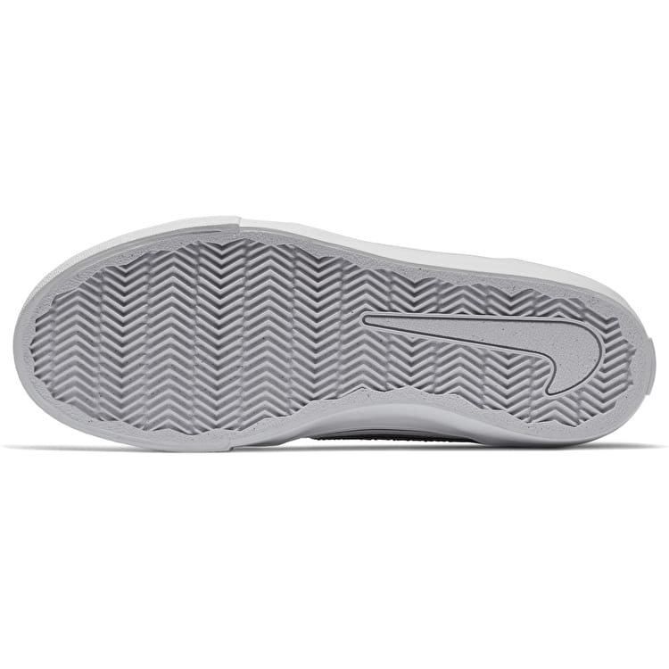 Nike SB Portmore II Womens Skate Shoes - White/Black