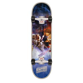 Santa Cruz x Star Wars The Empire Strikes Back Poster Complete Skateboard - 8