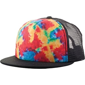 Neff The Hawk Trucker Cap - Tie Dye