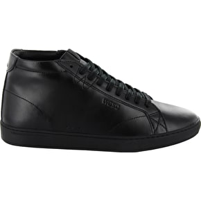 WeSC Lifestyle Clopton Mid Shoes - Black Leather