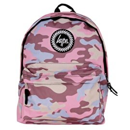 Hype Pastel Camo Backpack - Pink