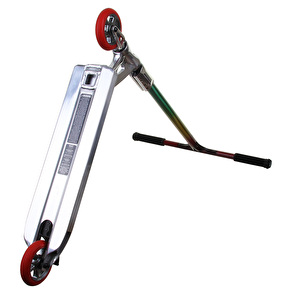MGP Custom Scooter - Chrome/Rasta