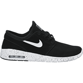 B-Stock Nike Stefan Janoski Max L Shoes - Black/White - UK 7 (Slightly soiled)