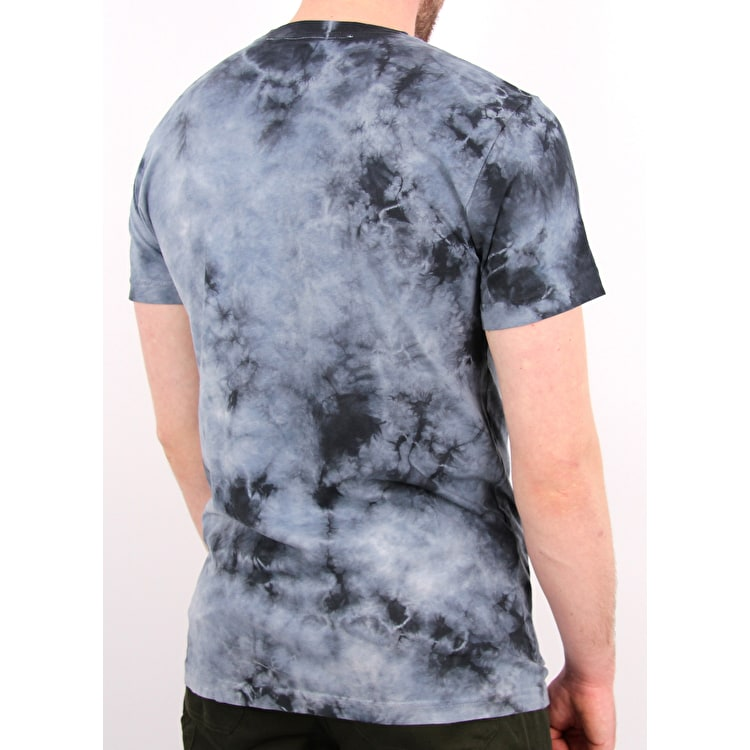 RIPNDIP Falling Electrocuted Pocket T-Shirt - Deep Sea Lightning Wash