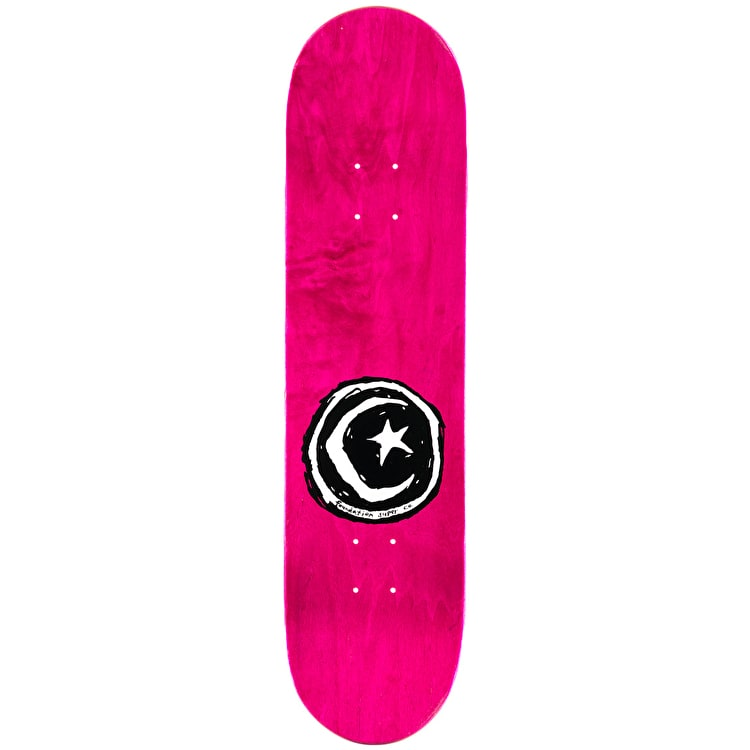 Foundation Sketchy Circle Skateboard Deck - 8""