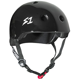 S1 Lifer Kids Multi Impact Helmet - Black Gloss