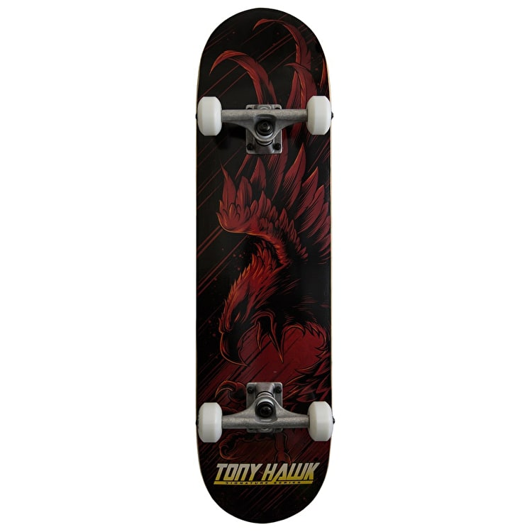 Tony Hawk 360 Series Skateboard - Swoop Red 8""