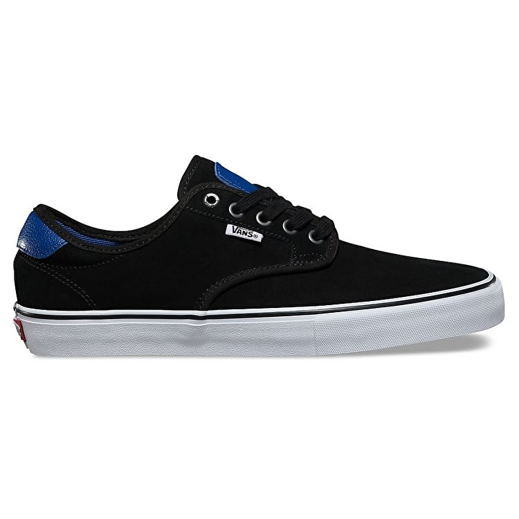 Vans Chima Ferguson Pro Skate Shoes - (Real Skateboards) Black/True Blue
