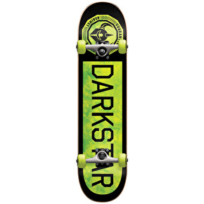 Darkstar Timeworks Youth Complete Skateboard - Neon Green 7.375