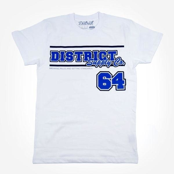 Image of District Supply Co. Team T-Shirt - White