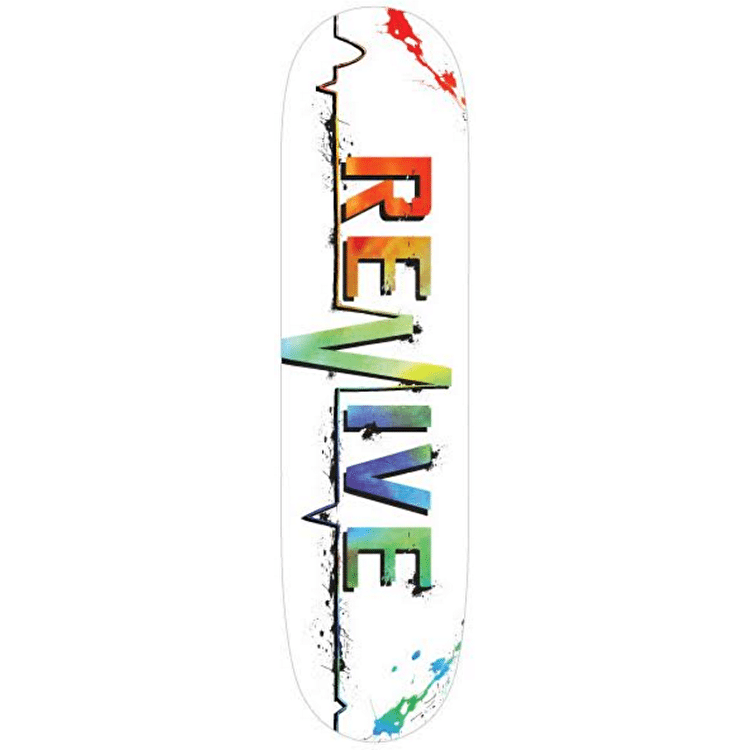 ReVive Splatter Skateboard Deck