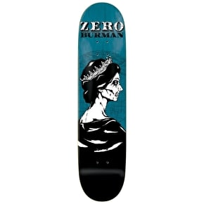 Zero Skateboard Deck - Dead Presidents R7 Burman 8.375