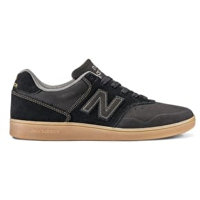 New Balance 228 Skate Shoes - Black/Gum