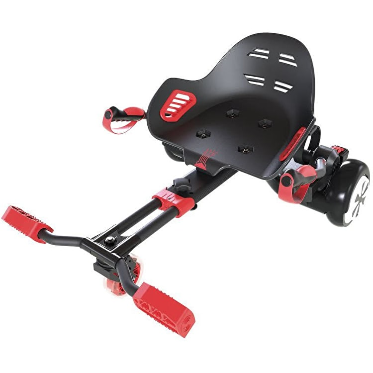 Neon HoverKart 4L CL 2P - Red/Black