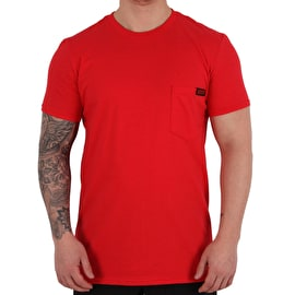 ReVive Lightning Pocket T-Shirt - Red