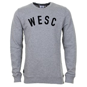 WeSC Crew Sweater - Grey Melange
