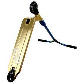 UrbanArtt Custom Scooter - Trans Blue/Gold
