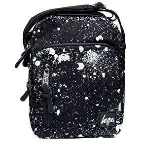 Hype Splat Roadman Bag - Black/White