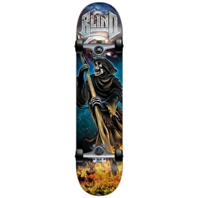 Blind Skateboard - Reaper Attack Teal/Silver 7.7