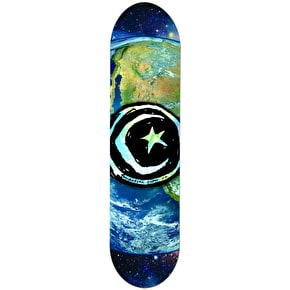 Foundation Star & Moon Earth Skateboard Deck 8.375