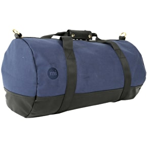 Mi-Pac Canvas Tumbled Duffle Bag - Navy/Black